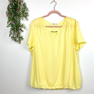 Gorgeous Yellow Ricki's Blouse